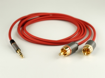 NuForce Audio Cable 3,5mm to RCA (1.5m) - Red