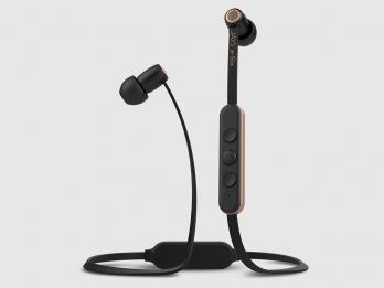 Tai nghe không dây bluetooth Jays a-Six Wireless - Black on Gold (sale sâu nên giảm bh còn 3 tháng )