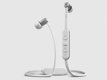 Tai nghe không dây bluetooth Jays a-Six Wireless - White on silver