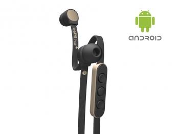 Tai nghe a JAYS Four+ , một sản phẩm đến từ Thuỵ Điển, âm thanh sống động, mạnh mẽ - Black on Gold for Android