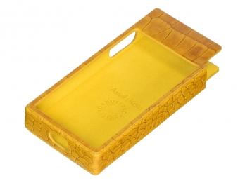 Bao da cao cấp cho máy nghe nhạc Astell & Kern AK120 II - Yellow