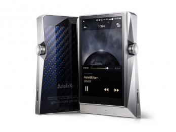 Máy nghe nhạc hi end Astell & Kern AK380 Stainless Steel, bộ combo máy nghe nhạc AK380SS + AMP SS + VanNuys case với phiên bản Stainless Steel