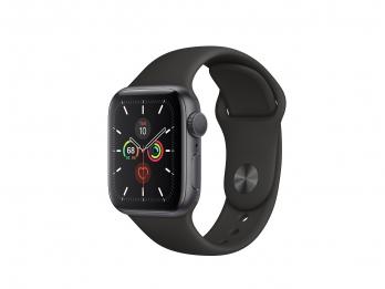 Apple Watch Series 5 vỏ nhôm màu xám - dây sport màu đen - 44mm - (GPS, Space Grey Aluminium Case with Black Sport Band) - Hàng Chính Hãng VNA