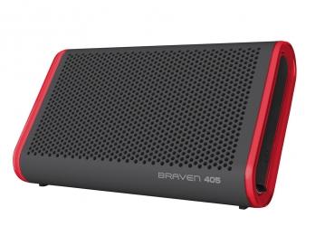 Loa di động không dây bluetooth chống nước Braven 405 - Grey Red