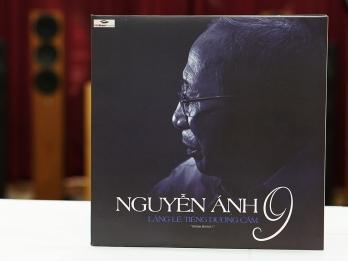 Đĩa than Album Lặng lẽ tiếng dương cầm Nguyễn Ánh 9