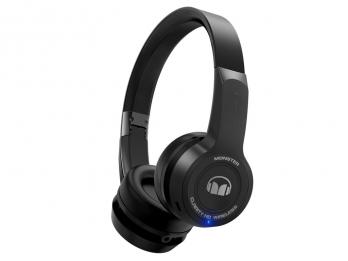 Tai nghe không dây tích hợp điều khiển cảm ứng Monster ClarityHD On Ear Bluetooth - Black
