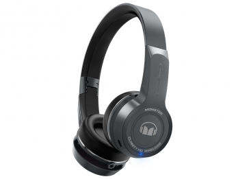 Tai nghe không dây tích hợp điều khiển cảm ứng Monster ClarityHD On Ear Bluetooth - Gun Metal