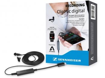 Sennheiser CLIPMIC DIGITAL, Micro gắn ngoài chất lượng cao cho các thiết bị iOS