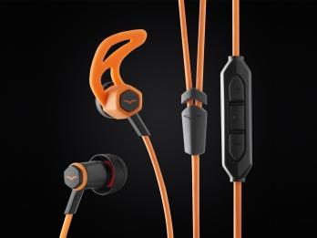 Tai nghe In Ear V MODA Forza với thiết kế mang hơi hướng của ngành điêu khắc theo phong cách La Mã Phục Hưng - Orange for iOS