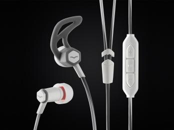 Tai nghe In Ear V MODA Forza với thiết kế mang hơi hướng của ngành điêu khắc theo phong cách La Mã Phục Hưng - White for iOS
