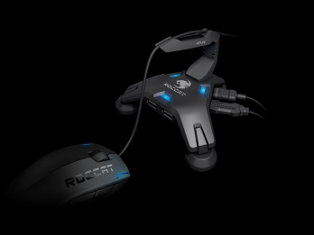 Hub USB kiêm giữ dây chuột Game ROCCAT Apuri