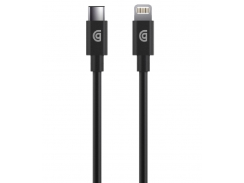 Dây sạc Griffin USB-C to Lightning Cable - 1.2m - Black  (GP066BLK)