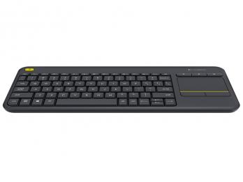 Bàn phím không dây Logitech K400 Plus - Black