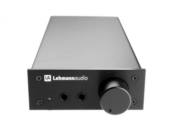 Lehmannaudio Headphone Amplifier Linear - Black