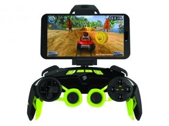 Tay cầm chơi game Mad Catz L.Y.N.X.3 Green dành cho các thiết bị Android và PC