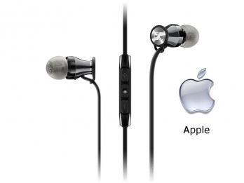 Tai  nghe Sennheiser Momentum In Ear for iPhone/iPad/iPod - Chrome for iOS