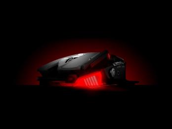 Chuột game, thiết kế đồ họa, xử lý ảnh cao cấp MAD CATZ RAT4, cảm biến quang PMW 3310 – 5000DPI