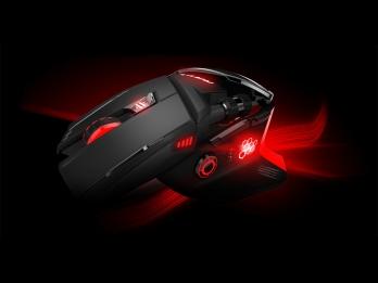 Chuột chuyên chơi game Mad Catz RAT6 cảm biến Laser 8200DPI, đèn led RGB 16.8 triệu màu