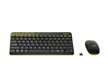 Bộ bàn phím và chuột không dây Logitech MK240