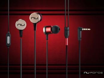 Tai nghe nhạc NuForce NE730M - Red
