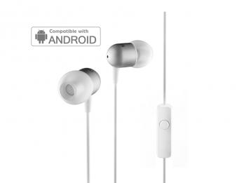 Tai nghe Nocs NS200 Aluminum Universal/Android - White (NS200U-002)
