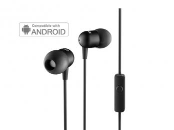 Tai nghe Nocs NS200 Aluminum Universal/Android - Black (NS200U-001)