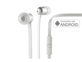 Tai nghe Nocs NS400 Aluminum Universal/Android - White (NS400A-102)