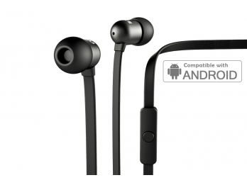 Tai nghe Nocs NS400 Aluminum Universal/Android - Black (NS400U-101)