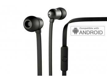 Tai nghe Nocs NS400 Aluminum Universal/Android - Black (NS400A-101)