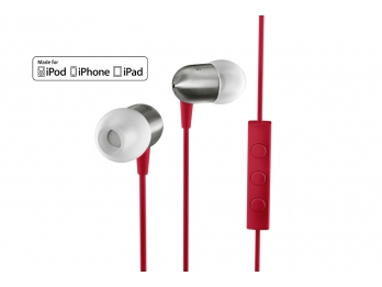 Tai nghe Nocs NS400 Titanium cho iPhone, Ipad, Ipod... - Red (NS400-008)