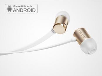 Tai nghe Nocs NS500 Aluminum cho Android - Gold (NS500A-012)