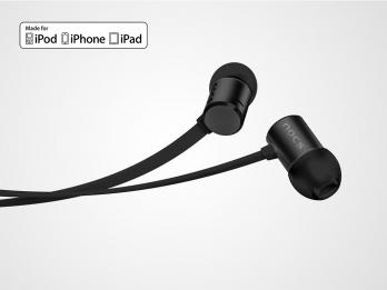 Tai nghe Nocs NS500 Aluminum cho iOS - Black (NS500-001)