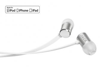 Tai nghe Nocs NS500 Aluminum cho iOS - Silver (NS500-002)