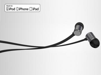 Tai nghe Nocs NS500 Aluminum cho iOS - Grey (NS500-011)