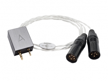Astell & Kern Crystal Cable PEF21 1.5m/4.92' Balanced 2.5mm to Dual 3pin XLR Cable