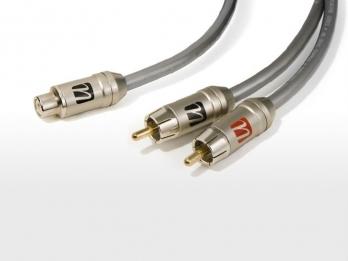 UltraLink Caliber™ RCA Female to 2 RCA Male