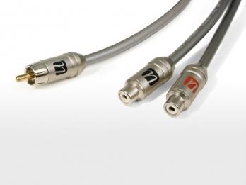 UltraLink Caliber™ RCA Male to 2 RCA Female