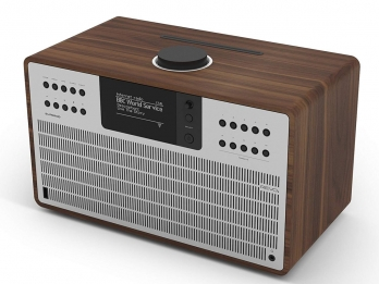 Loa Bluetooth Revo SuperCD - Walnut Silver