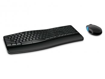 Bộ bàn phím chuột không dây Microsoft Sculpt Comfort