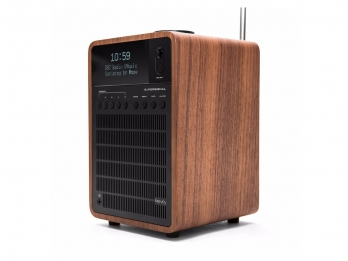 Loa Bluetooth Revo SuperSignal - Walnut Black