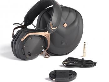 Tai nghe Bluetooth V-MODA Crossfade 2 Wireless - Gold  (share,comment trên page Loa có tặng Loa bluetooth Jays S Go Three)