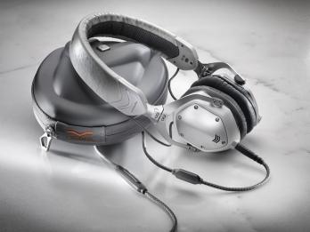 Tai nghe V-MODA XS - White Silver