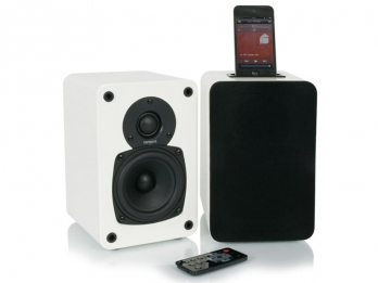 Loa Tangent Audio EVO E4i with dock  iPod/iPhone - White