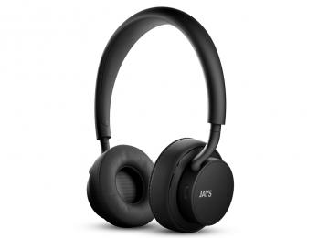 Tai nghe không dây bluetooth u JAYS Wireless - Black on Black