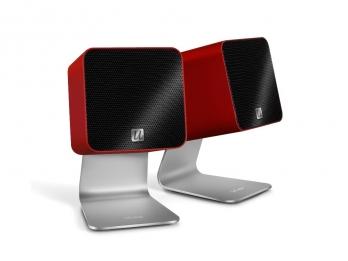 Loa cho máy tính Mac, Laptop...  Ultralink UFi Ucube - Red