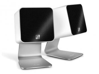 Loa cho máy tính Mac, Laptop...  Ultralink UFi Ucube - White
