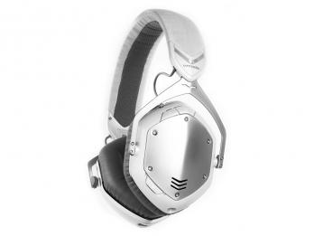 Tai nghe Bluetooth V-MODA Crossfade Wireless - White Silver (share, comment trên page Loa để được giá ưu đãi 3.9 triệu)