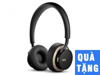 Tai nghe không dây bluetooth u JAYS Wireless - Black on Gold