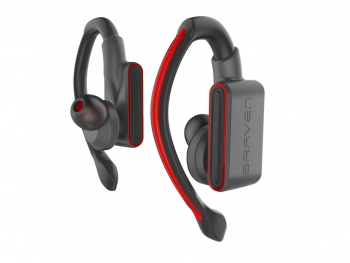 Tai nghe không dây Braven Flye Glow True Wireless Bluetooth - Grey Red