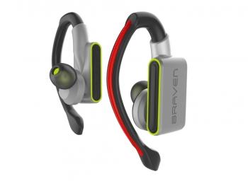 Tai nghe không dây Braven Flye Glow True Wireless Bluetooth - Silver Green